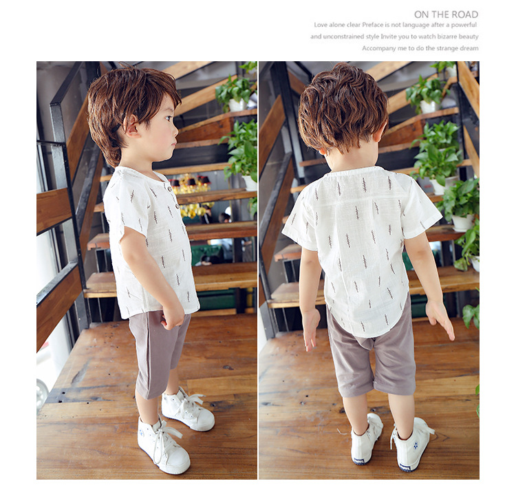 2019 New Kids Clothes Spring Boys Clothing Sets T Shirt + Shorts Toddler Boys Clothing Baby Boy Fluid Systems Clothes Brand 29