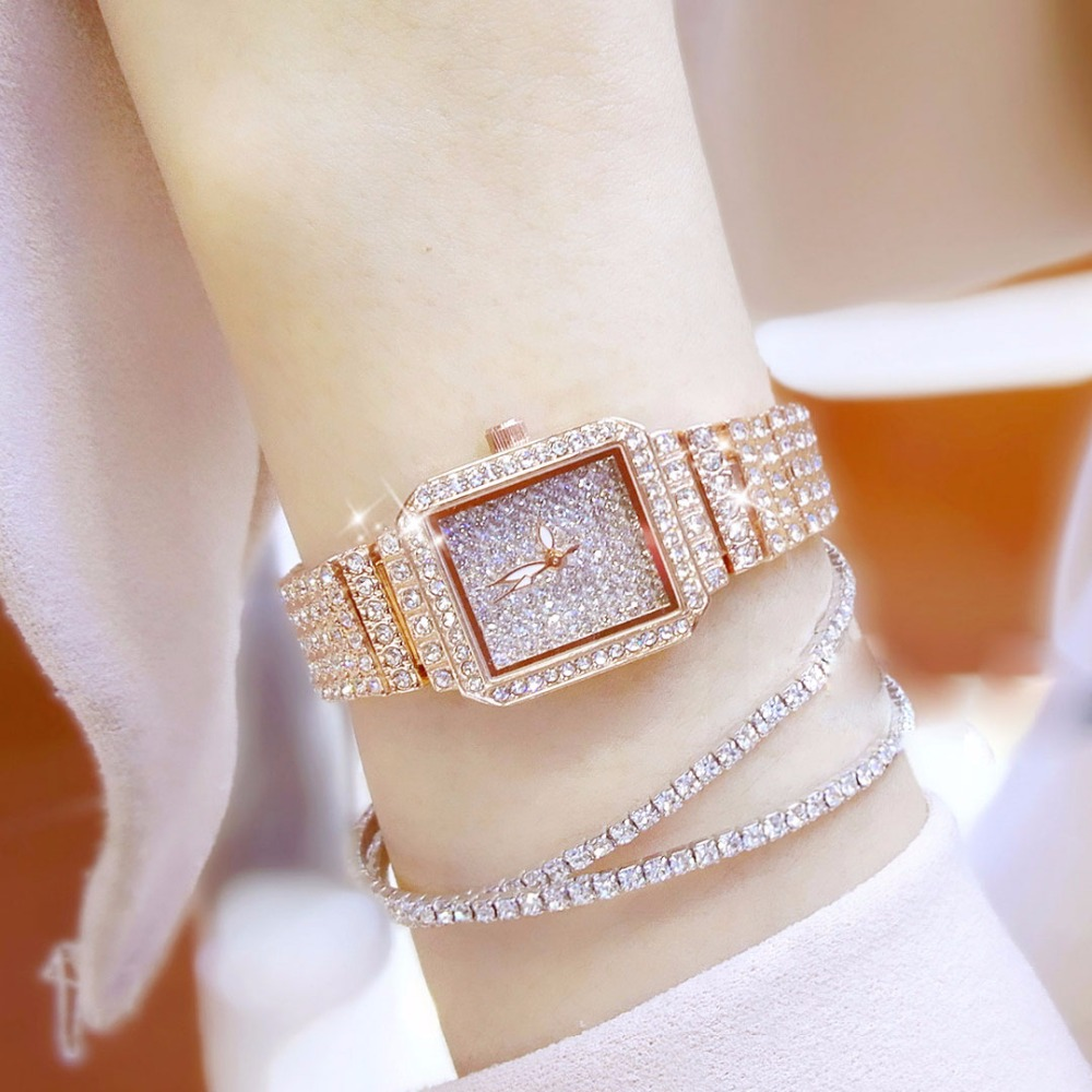 Brand Luxury Women Watches Ladies Casual Quartz Watch Female Clock Silver Stainless Steel Bracelet Dress Watch