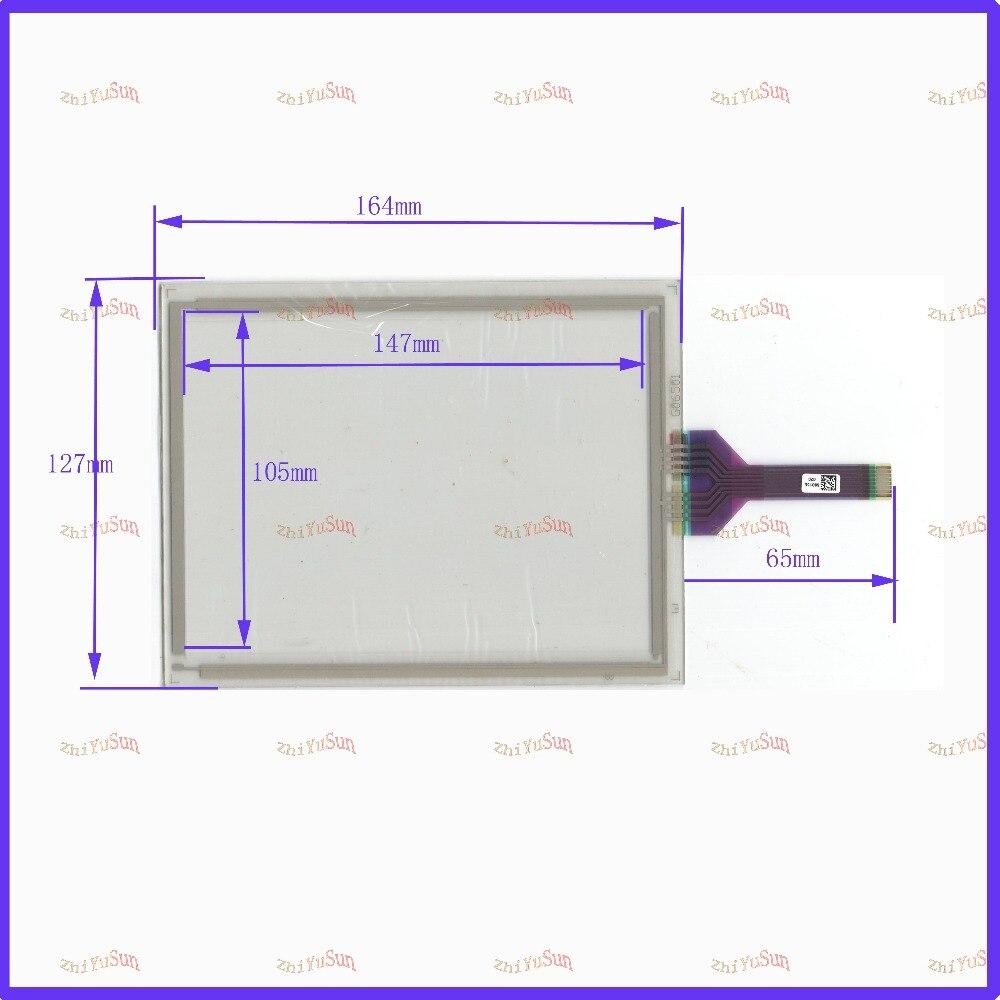 ZhiYuSun 68015E 020 touch screen Sensor glass 164*127 6.5 inch 6.5   Industrial use 8line 164mm*127mm zhiyusun new266mm 207mm original handwritten12inch touch screen panel n7x0101 4201 ld on digital resistance compatible