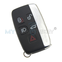 цена на Remtekey for Landrover Discovery for Range Rover Sport Evoque Vouge Smart car key PCF7953 5 button 433 mhz KOBJTF10A
