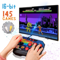 AV Output 16 Bit Retro Games video console Built in 145 Mini Bittboy handheld game Classic portable TV game player Best Gift