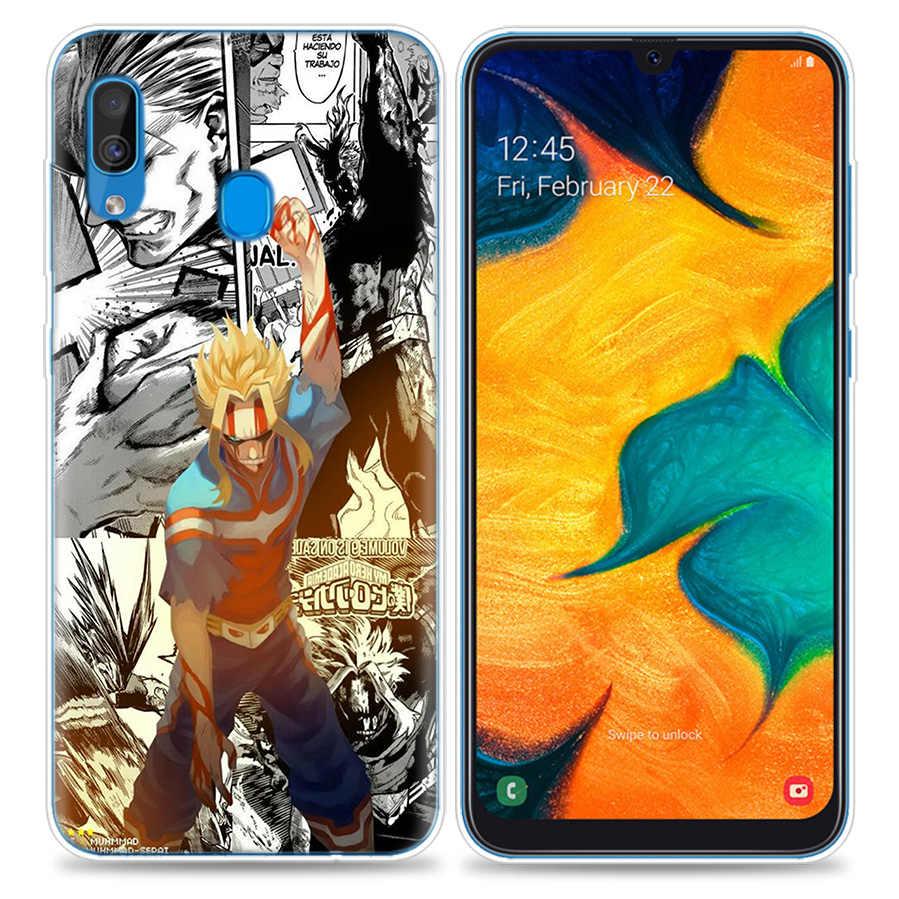 Bao Ốp Lưng dành cho Samsung Galaxy Samsung Galaxy Điện Thoại Di Động A50 A70 A30 A20 J4 J6 J8 A6 A8 M30 A7 Plus 2018 note 8 9 Tất Cả Có Thể Boku No My Hero ACA