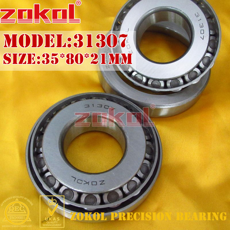 ZOKOL bearing 31307 27307E Tapered Roller Bearing 35*80*21mm na4910 heavy duty needle roller bearing entity needle bearing with inner ring 4524910 size 50 72 22
