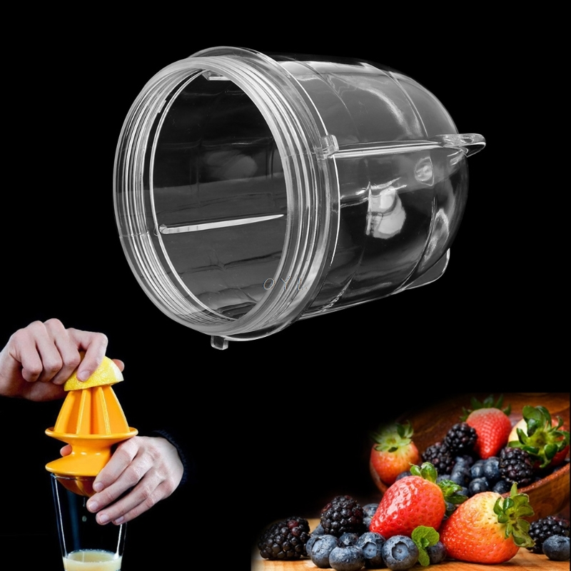 Brand High Quality Juicer Blenders Cup Mug Clear Replacement Parts With Ear For 250W Magic Bullet Juicer Part Accessory