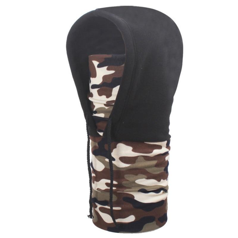 6a0b573dcd204 Thick Warm Fleece Men Winter Balaclava Hat Full Face Mask Skullies Beanies  Windproof Hood Scarf