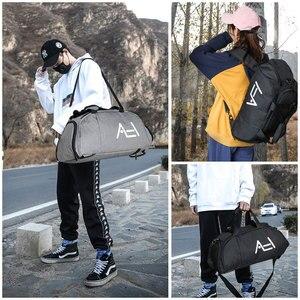Image 5 - Scione גברים נסיעות ספורט שקיות Mens תיק גדול נסיעות תיק מטען באיכות גבוהה נוסעים ומטען עבור גברים