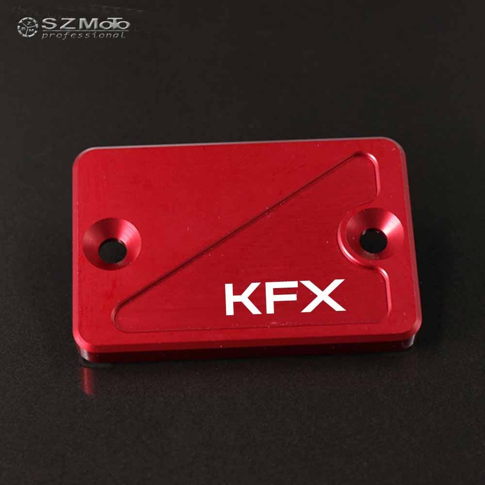 CNC Brake Cover Master Cylinder Reservoir Cap for Kawasaki KFX400 KFX450R KFX700