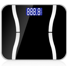 Smart Weigh Body Fat Digital Precision Scale with Tempered Glass Platform Measures Weight Body Fat, Water, Muscle and Bone Mass