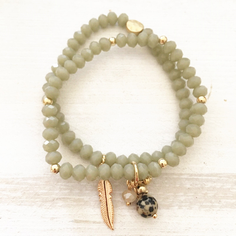 Dongmu jewellery New retro style handmade Fashion Beaded Crystal Bohemia shell Heart Summer Exquisite Women Day Gift