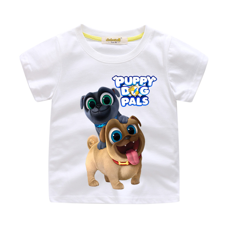 f0aad1785 Children 3D Cartoon Puppy Dog Pals Print Clothes For Kids Funny T-shirt Boy  Short. sku: 32898071536