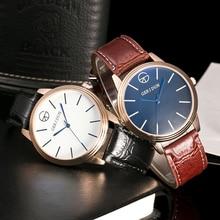 купить Relojes 2018 Watch Men Fashion Business Quartz Clock Mens Watch Top Brand Luxury Sports Waterproof WRistwatch Relogio Masculino по цене 383.62 рублей
