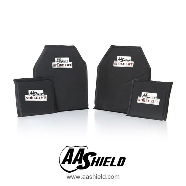 AA Painel Escudo À Prova de Bala Soft Body Armor Placa Inserções aramida Núcleo Self Defense Abastecimento Lvl IIIA NIJ 3A 10X12 #2 (2) 6X6 (2) Kit