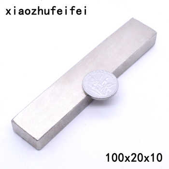 10 x Big Bulk Super Strong Block Magnets Rare Earth Neodymium 100 x 20 x 10 mm  100*20*10mm 100x20x10mm - DISCOUNT ITEM  34% OFF All Category