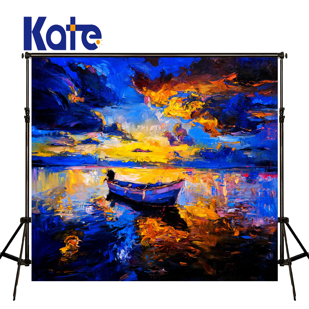 KATE Photo Background 10x10ft Sunset Beach Bokeh Backdrop Photography Scenic Backdrops Lona Para Fundo Vintage Photocall Wedding kate photography background fundo watches ship parapet pier photo oil painted backdrops photocall foto for fond studio 5x7ft