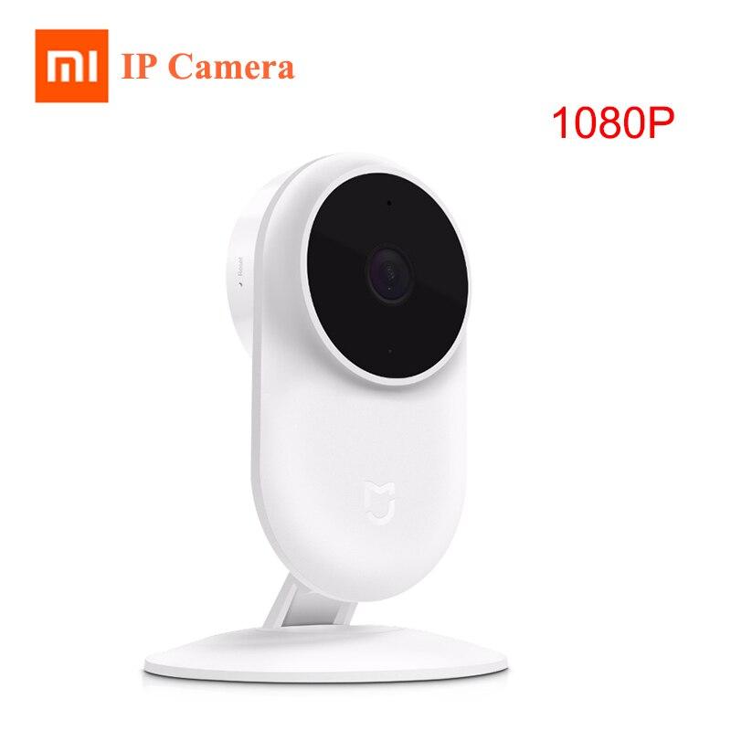 Original Xiaomi Mijia 1080 P IP Kamera 130 Grad FOV Nachtsicht 2,4 Ghz Wifi Verbinden Cam Xiaomi Home Kit sicherheit Monitor CCTV