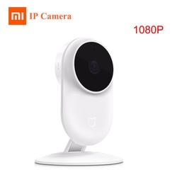 Oryginalny Xiaomi Mijia 1080 P kamera IP 130 stopni FOV Night Vision 2.4 Ghz Wifi podłączyć kamery Xiaomi zestaw do domu monitor bezpieczeństwa CCTV