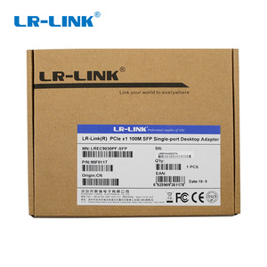 Image 5 - LR LINK 9030PF SFP PCI Express 100Mb Ethernet Network Controller Card Lan Adapter Desktop PC Intel 82574 Nic