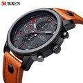 2016 CURREN Homens Relógios de Luxo Homens Casuais Relógios Homens Analógica Militar Esportes Relógio de Quartzo relógios de Pulso Masculino Relogio masculino