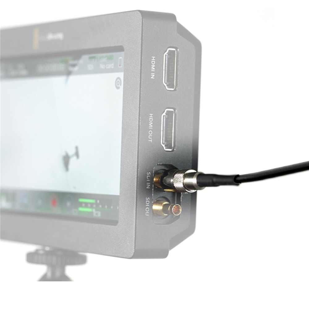SmallRig BMD мониторы 3g HD SDI входной кабель сигнала выход BNC к DIN 1,0/2,3 мужской 75Ohm кабель для видео помочь Blackmagic камера