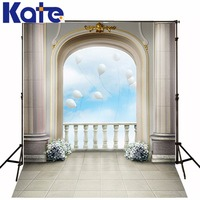 300Cm*200Cm(About 10Ft*6.5Ft)T Background Every Now And Then A Balloon Sky Photography Thick Cloth Photography Backdrop 3285 Lk