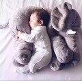 Elefante Dos Desenhos Animados do elefante de pelucia Travesseiro Bebê Travesseiro Assento Cojin Lactancia decoração do quarto do bebê Travesseiro elefante de pelucia