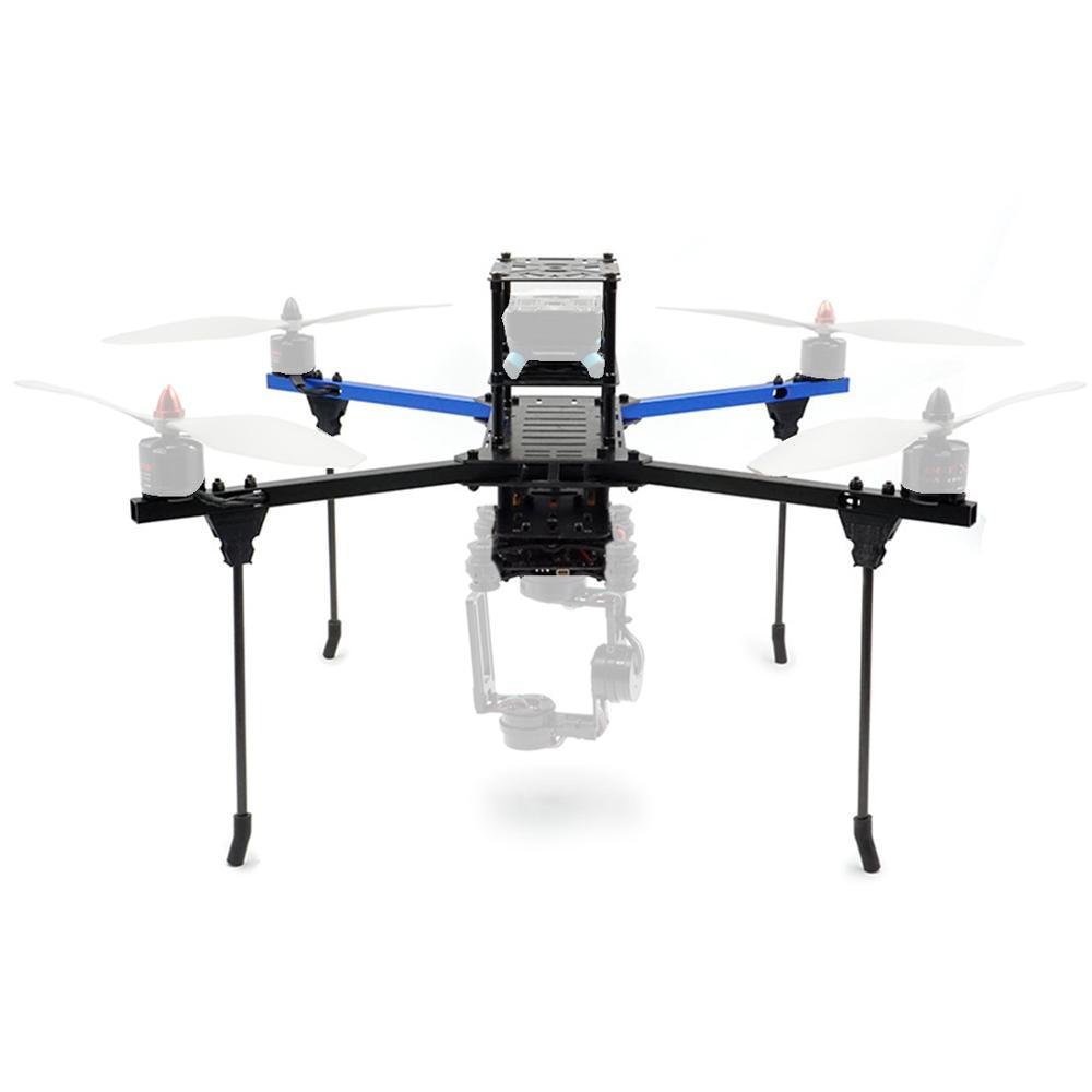BlueX450 KIT cadre aluminium Tube Rack F450 Drone multi-rotor course Drone quadrirotor pour bricolage FPV course Multicopter