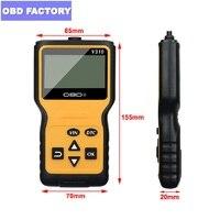 OBDII EOBD CAN Auto Code Scan Tool v310 Code Readers&Scan Tools obd2 car fault code scanner V1.1 16pin Male Scanner obd2