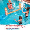 Pool Floats Football Volleyball Basketball Pool Toys Water Sports Games Inflatable Floating Island Boia Piscina For Adults Kids