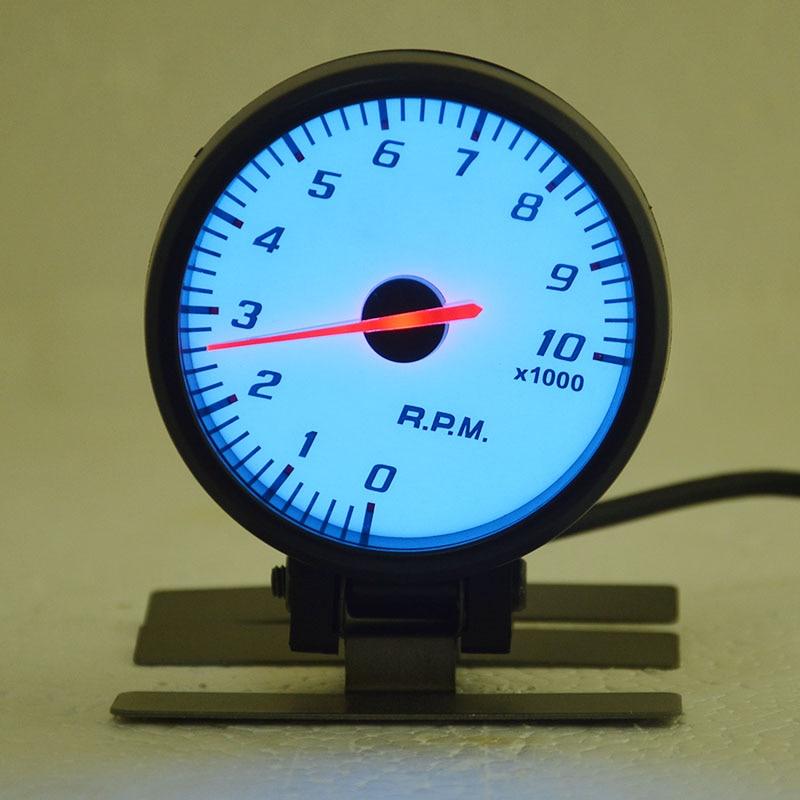 Universal 60MM stepping motor car turbo gauge Auto gauge boost gauge free shipping
