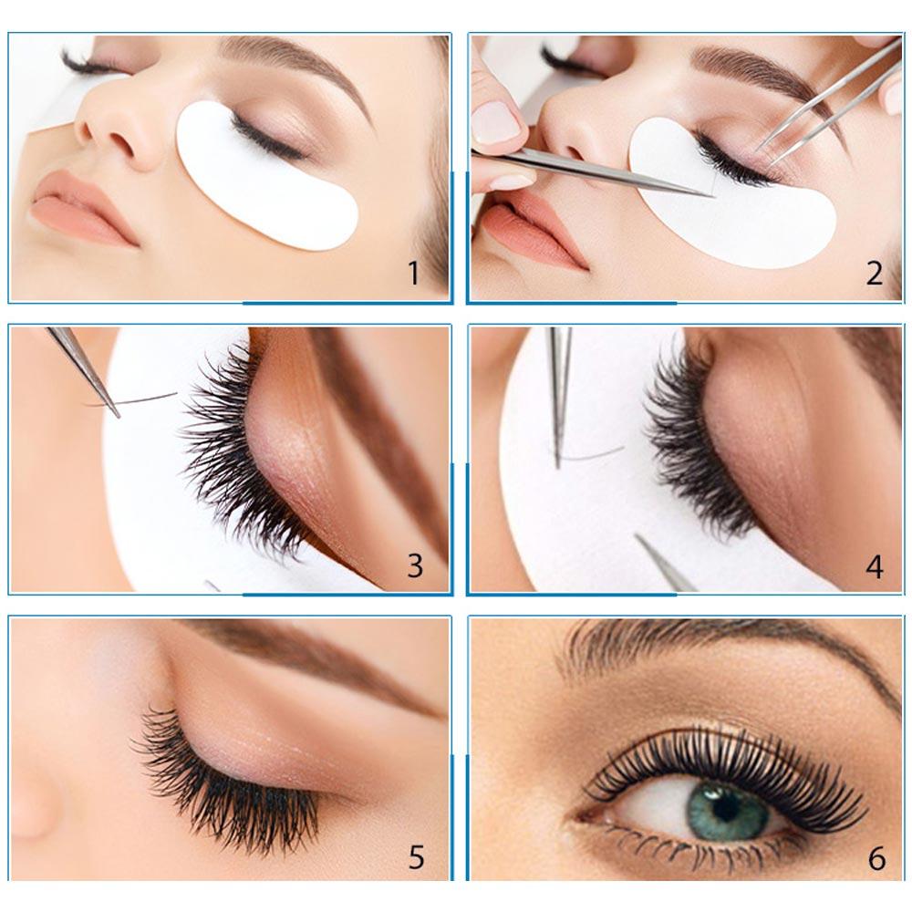 Almofadas do Olho Eye Dicas Sticker Wraps 50/100/150