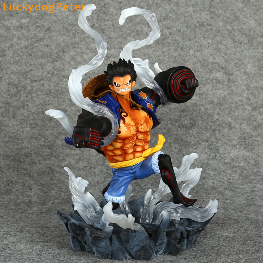 Charitable One Piece Gear Fourth Luffy Action Figure 1/6 Scale Painted Figure Gear Fourth Monkey D Luffy Doll Pvc Acgn Figure Anime 26cm Toys & Hobbies