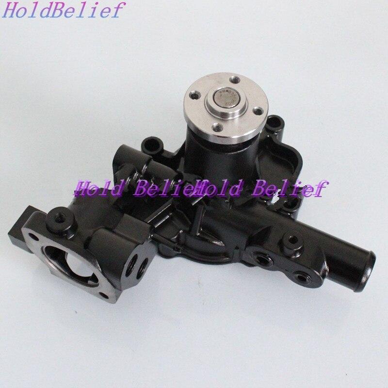 For Yanmar 3D84E 3D88E 4D88E Water Pump With Pipe Komatsu PC30 PC40 WA30 WA40
