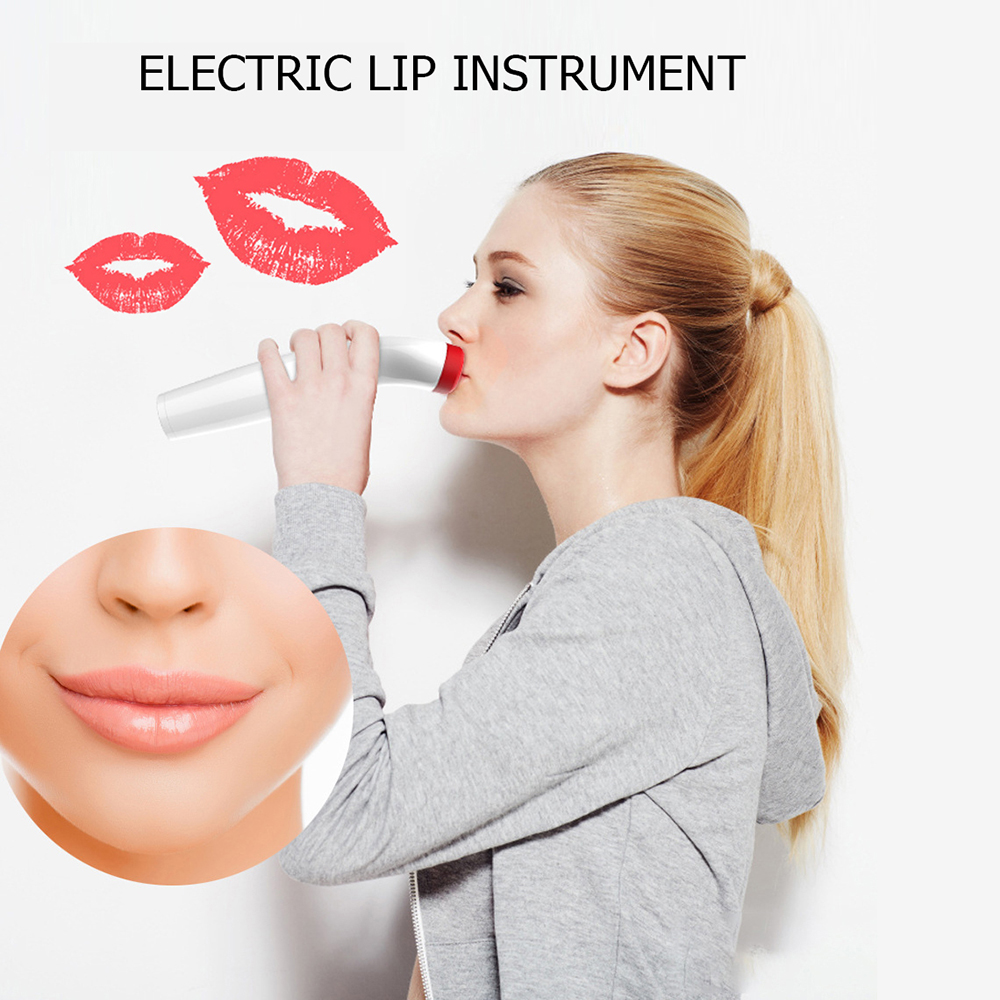 Silicone Lip Plumper Device Electric Automatic Lip Plump Enhancer Care Tool Voluminizador De Labios Bigger Fuller Lips Enlarger