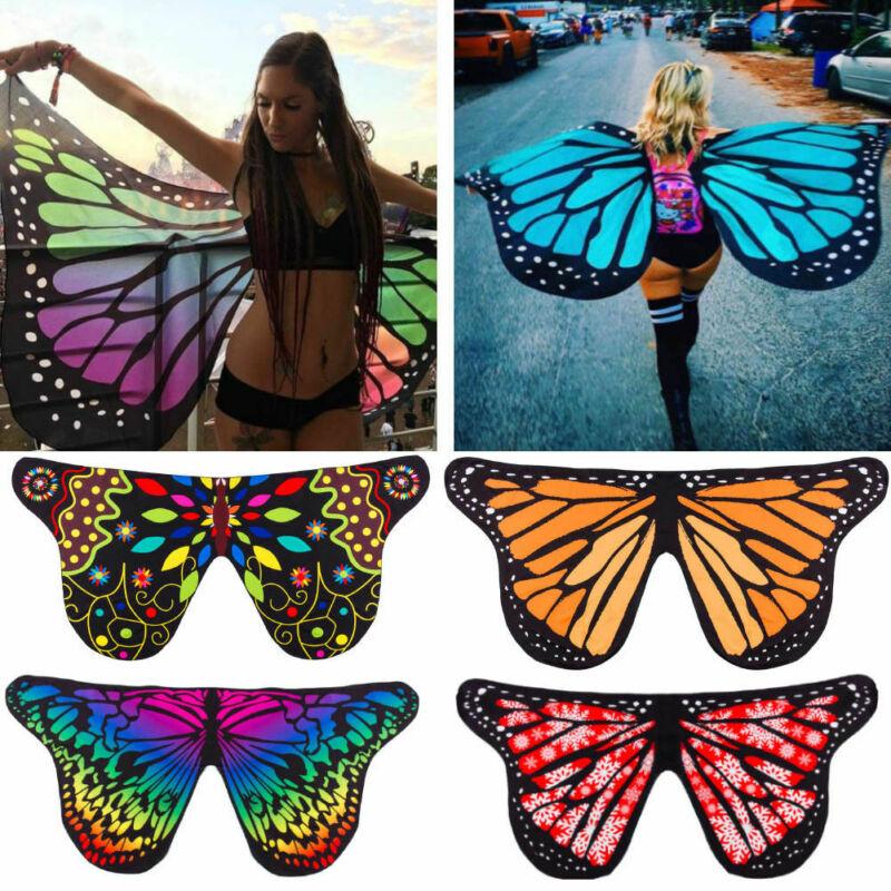 2019 Fashion Women Beautiful Elf Fairy Wing Butterfly Wings Kids Costume Girls Christmas Dress Up