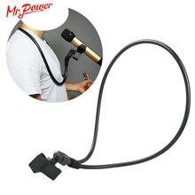Универсальный держатель для микрофона на шею с подставкой и