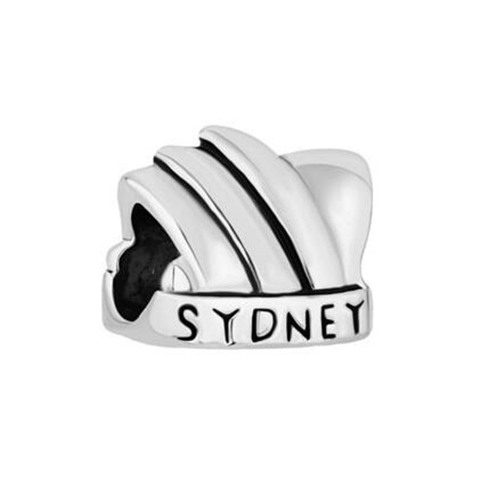 Free shipping New Australia Sydney Opera House DIY Beads Charms fit Pandora bracelet(China (. pandora charm bracelet price