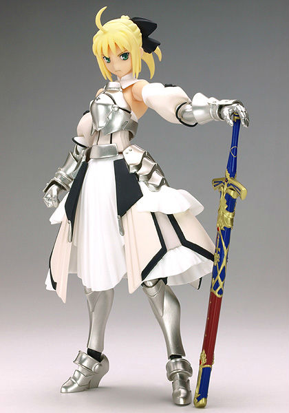 Free shipping,Figma SP004,PS2 Game Fate/unlimited codes,Saber Lily PVC 15cm height Figure Product really making le fate топ
