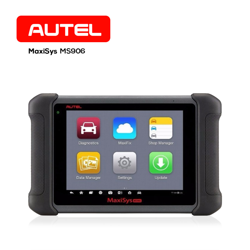 Autel Maxisys MS906 OBD2 Automotive Diagnostic Tool 8 Inch Smart Wifi Code Reader Scan Tools with full OBD Adapter Connectors