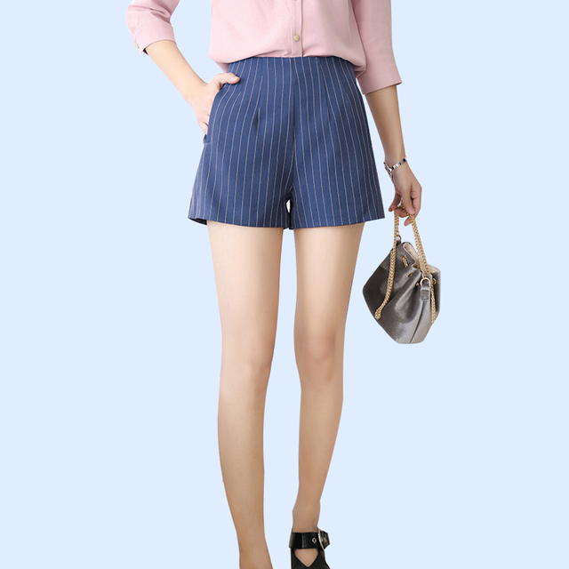 Одежда для пляжа шорты полосатый случайный стиль моды шорты новые модные женской одежды D2855