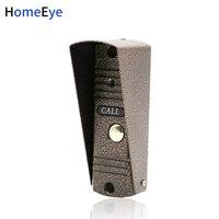 HomeEye Door Phone Intercom Outdoor Call Button Call Panel 1200TVL Build in Camera Apartment Security Doorbell IR Night Vision