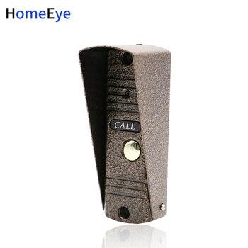 HomeEye Intercomunicador Do Telefone Da Porta Ao Ar Livre Botão de Chamada Chamada Painel 1200TVL Construir-na Câmera De Segurança Apartamento Campainha Visão Nocturna do IR