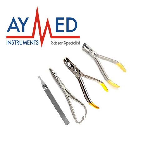 4 Pieces 5 Set Ortho Pliers Distal End Cutter Weingart Mathieu Tweezer Orthodontic Instruments british museum around the world colouring book
