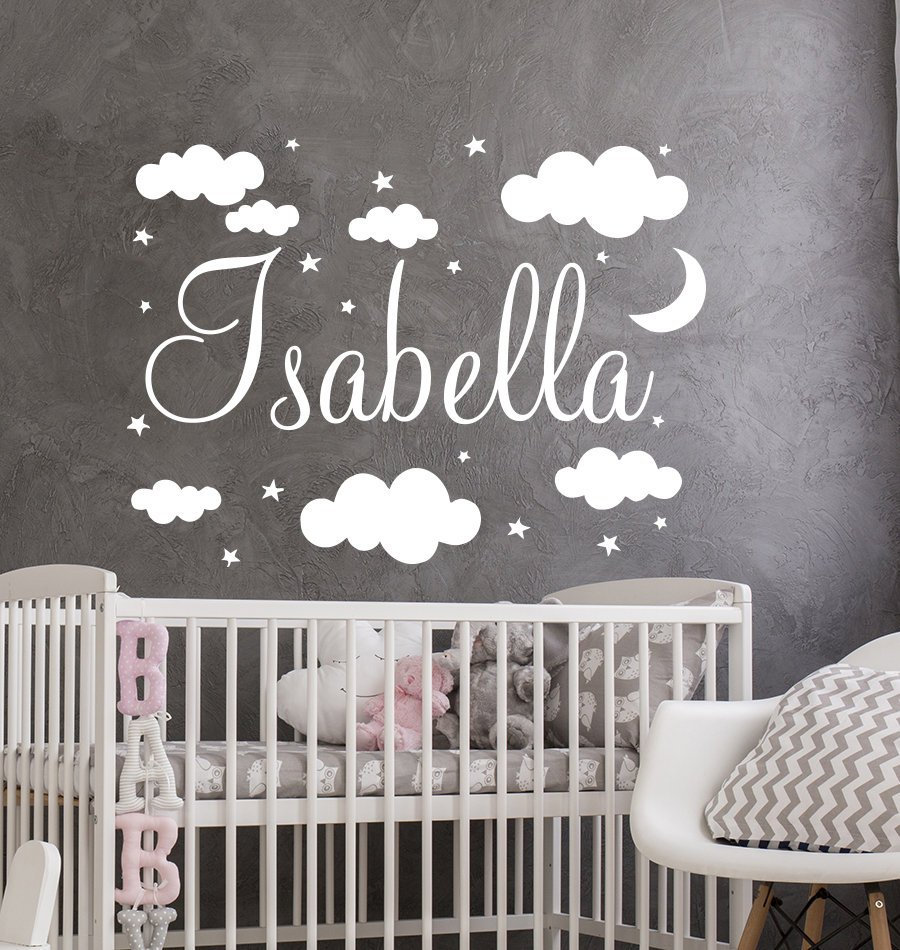 Name Decal Vinyl Wall Stickers