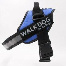 Dadugo собачья упряжь, для домашних животных отражательная подвеска Регулируемый для собаки безопасности harness xs-xxl 6 Размер 6 видов цветов Прямая доставка