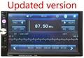 2 Din 7 polegada Carro DVD Player de Rádio Estéreo Do Carro Player No Traço Jogador Vedio Bluetooth Tela de Toque Sem Fio Top qualidade