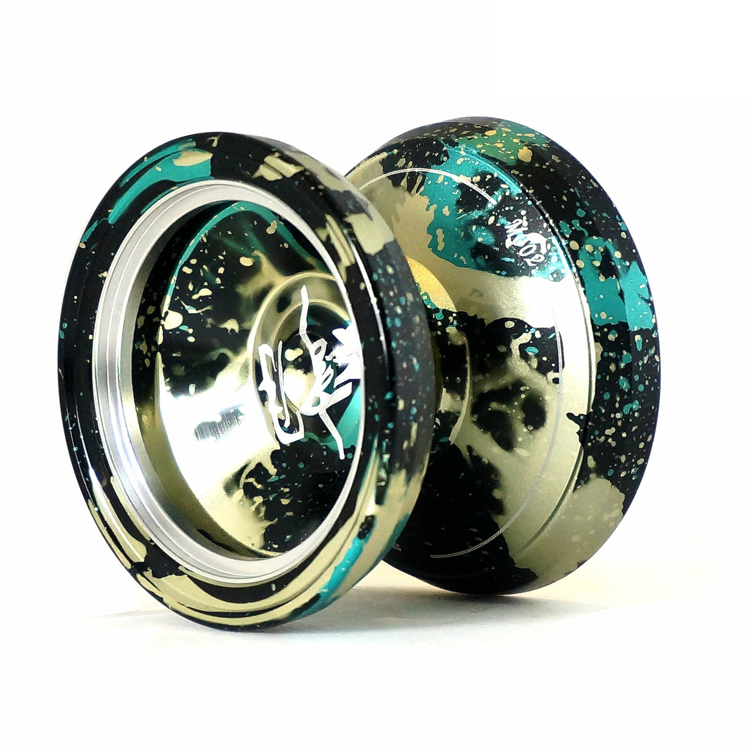 New MAGIC YOYO style M002 Acid Wash Color Anodized Surface and Stainless Center Bearing футболка glamorous ac1239 black acid wash