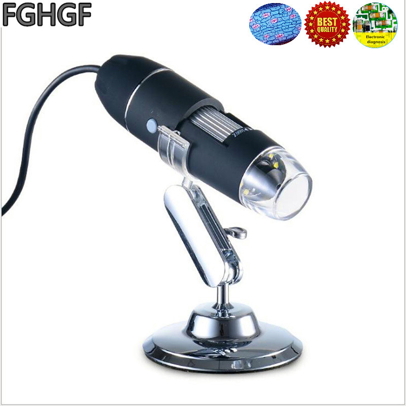 FGHGF CK3 1 500X Electronic Magnifier USB Microscope PCB Repair Diagnosis Magnifier Plastic Rubber Video Magnifier Handheld in Microscopes from Tools