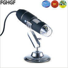 FGHGF CK3 1-500X Electronic Magnifier USB Microscope PCB Repair Diagnosis Magnifier Plastic Rubber Video Magnifier Handheld цена