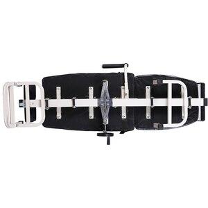 Image 2 - Облегчение боли в спине с поясничным трактором, растяжка шеи, поясничное тяговое устройство для поддержки позвоночника, бандаж, Корректор ног