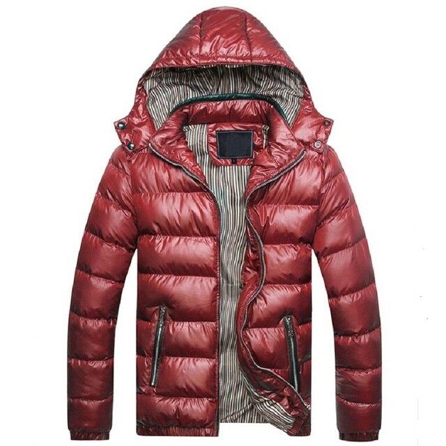Зимняя Куртка Мужчины Теплое Пальто Спортивной Верхней Одежды зимняя Куртка куртки plumas омбр мужчины пальто и куртки Плюс размер M-XXXL